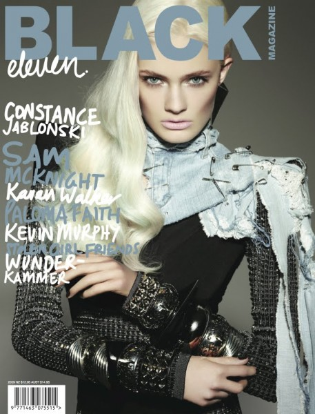 Black Magazine #11–2 of 4 Covers | Constance Jablonski & Hannah Holman by Michael Schwartz