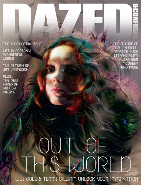 Dazed & Confused November 2009 | Lily Cole