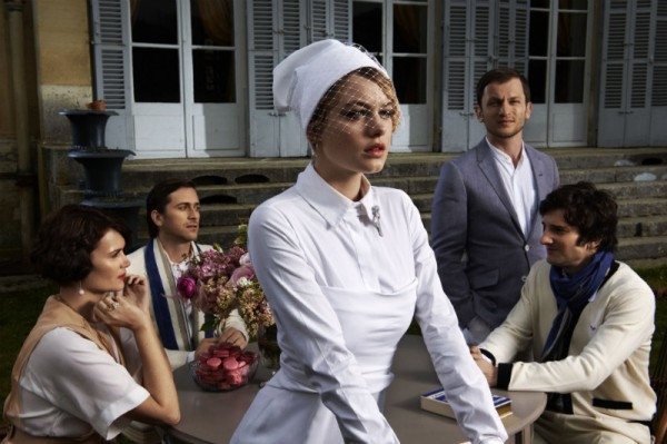 """Elle France Enlists David Vasiljevic to Capture """"The Great Gatsby"""", Starring Camille Rowe"""