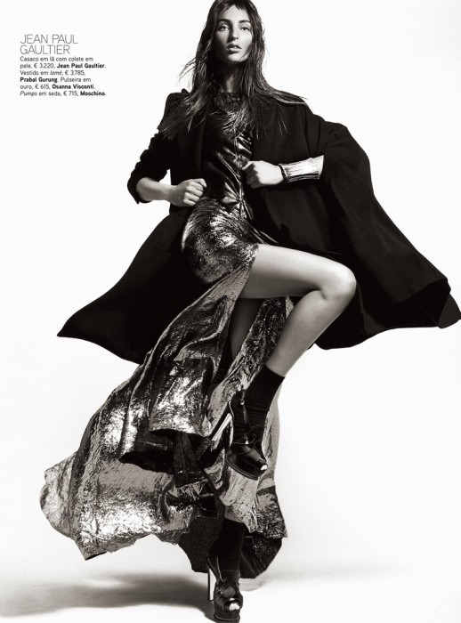 Kevin Sinclair Lenses Georgina Stojiljkovic in Fall's Standouts for Vogue Portugal October 2012