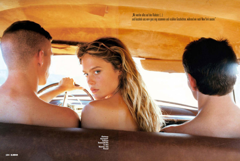 Photographer Paul Jasmin Goes On the Road for Glamour Germany October 2012