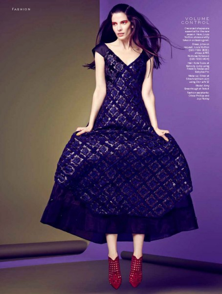 Amy Greenhough Dons Bold Autumn Selects for Stylist Magazine