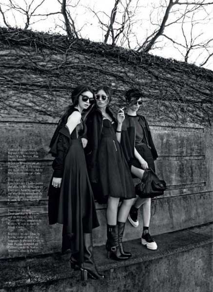 Thom Kerr Captures a Conspicuous Trio of Schoolgirls for Black Magazine #17
