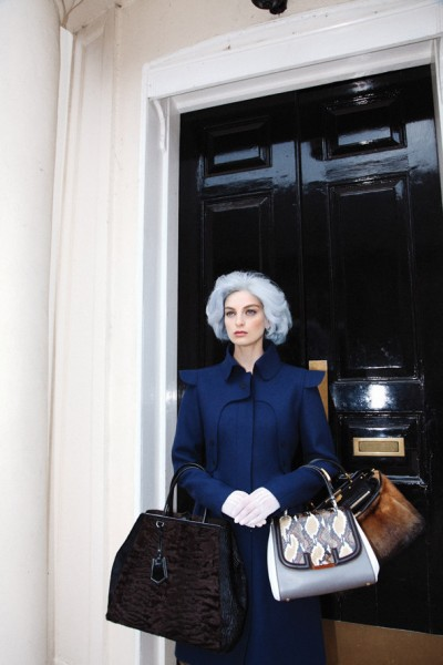Rose Smith is Lady Fendi for Citizen K International by Alice Rosati