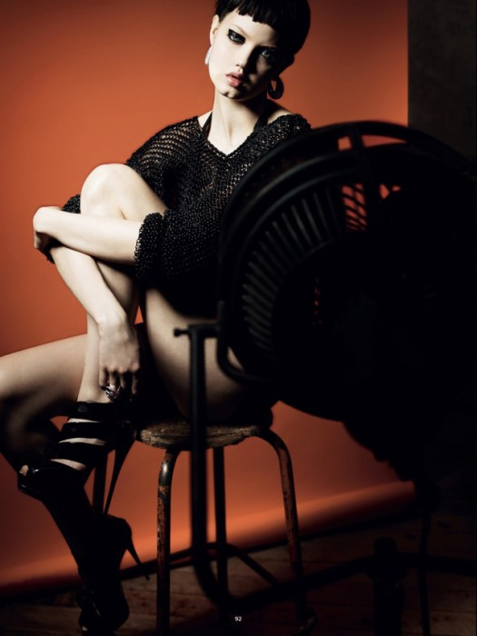 Lindsey Wixson Smolders for Jan Welters in Antidote S/S 2012