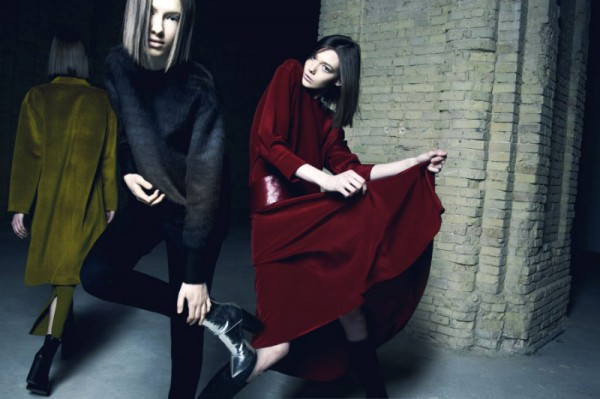 Nikolay Biryukov Captures Litkovskaya's Fall Collection for Elle Ukraine October 2012