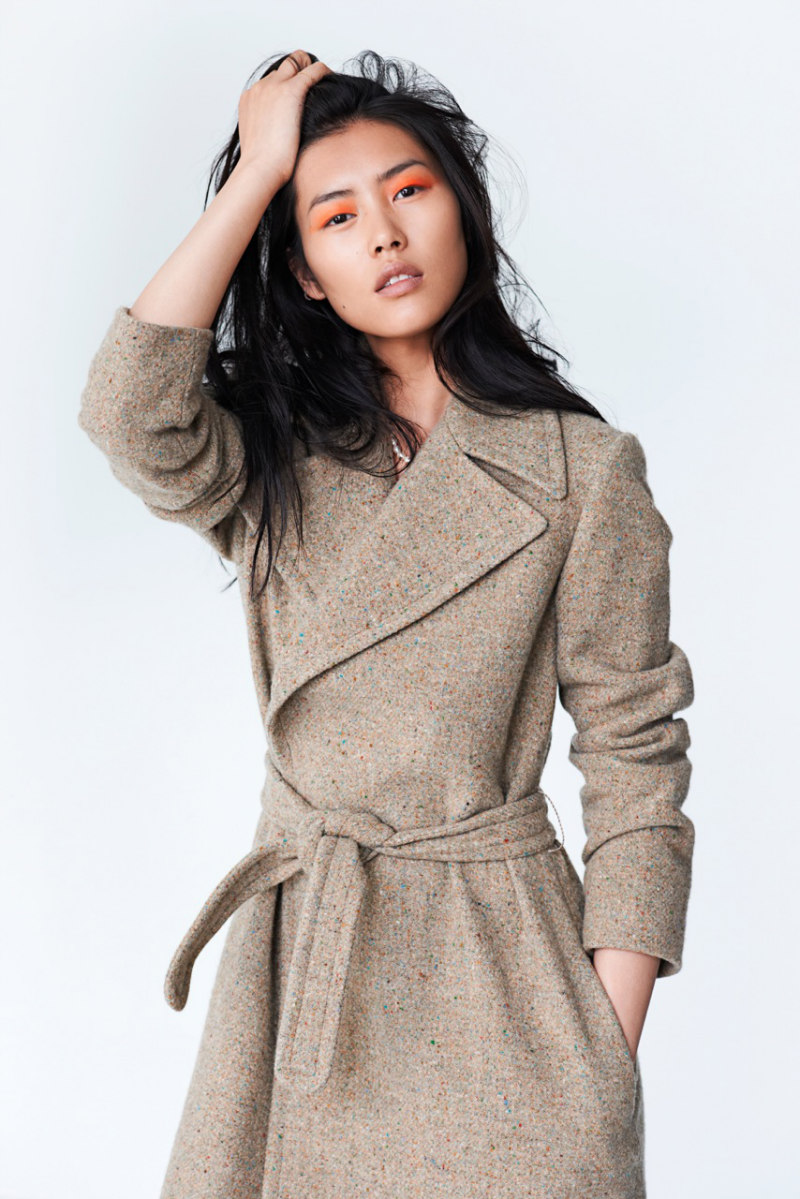Liu Wen Covers Sunday Times Style's 10th Anniversary Issue by Eric Guillemain