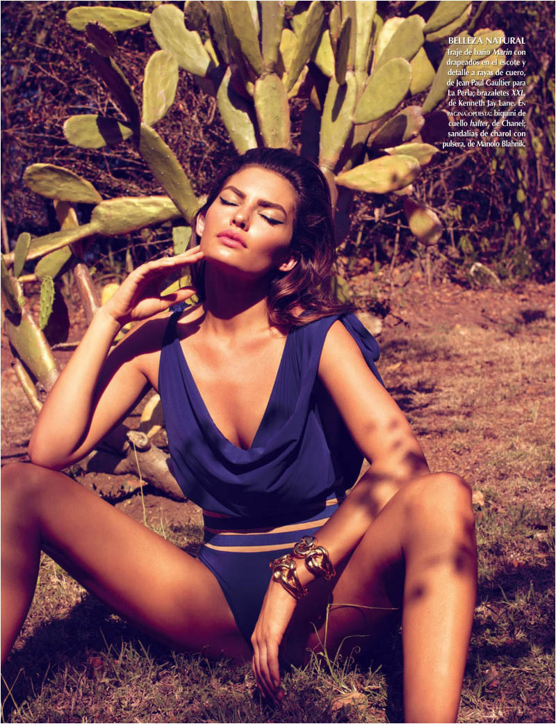 Alyssa Miller Soaks up the Sun in Stephan Würth's Vogue Latin America Shoot