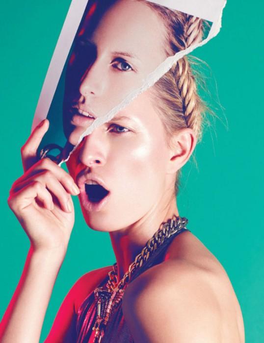 Karolina Kurkova is a Metallic Muse for Nagi Sakai's Vogue Mexico June Cover Story