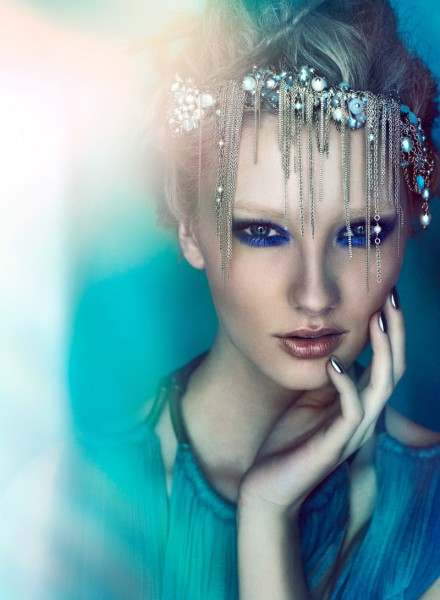 Meagan Callen by Chris Nicholls for Flare June 2012
