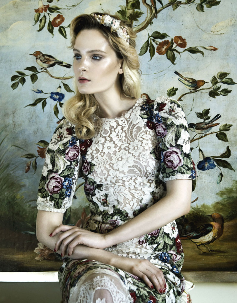 Nikolay Biryukov Lenses an Homage to Renaissance Style for Elle Ukraine October 2012