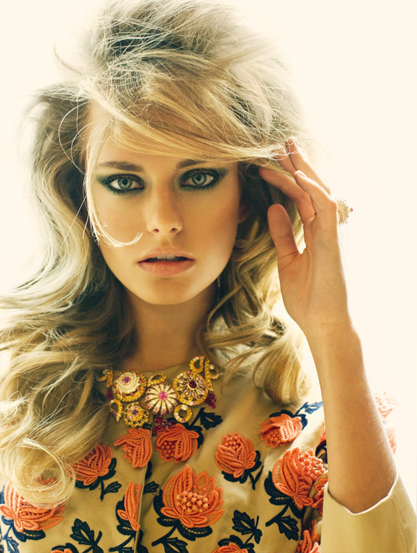Natalia Krauchanka Exudes Classic Glamour for SCMP Style, Lensed by Nikolay Biryukov