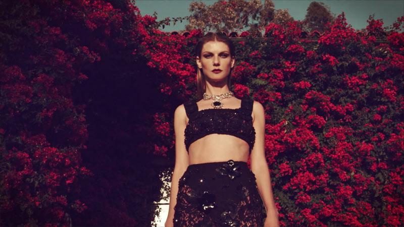 Film | Angela Lindvall by Koray Birand for Harper's Bazaar Turkey