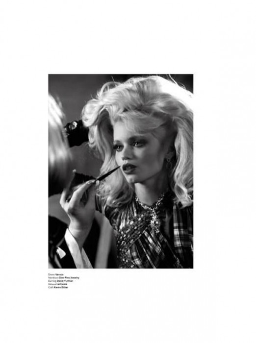 Abbey Lee Kershaw by Sebastian Faena for V Magazine #69