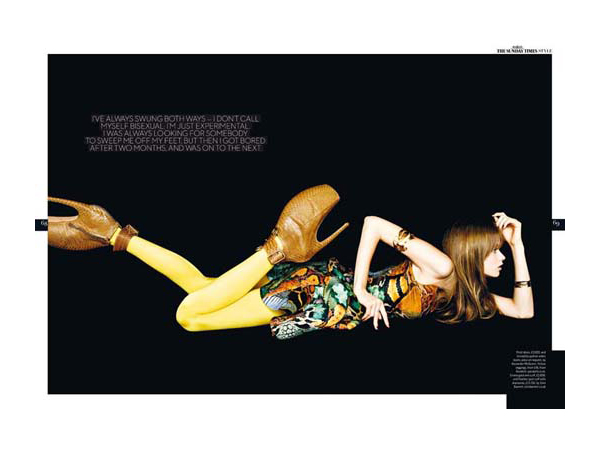Abbey Lee Kershaw by Ben Hassett | <em>The Sunday Times UK Style Magazine</em>