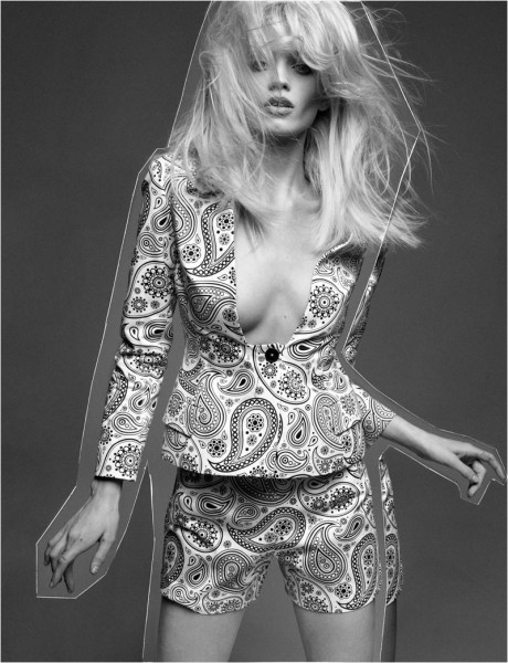 Abbey Lee Kershaw by Greg Kadel for Numéro #133