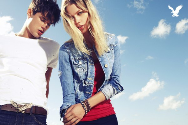Aline Weber by Nagi Sakai   American Eagle Outfitters Summer 2010 Campaign