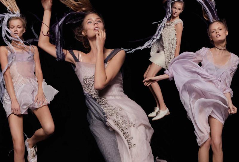 Spring 2010 Campaign | Alberta Ferretti by Steven Meisel