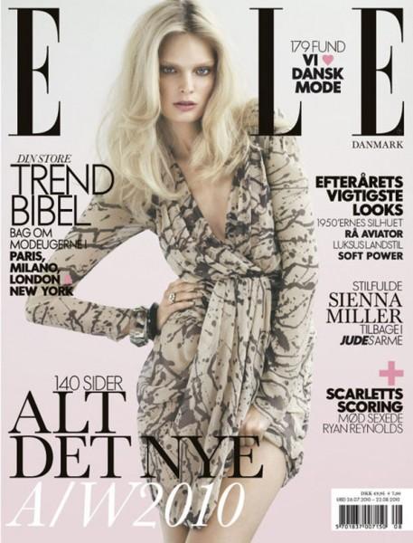 <em>Elle Denmark</em> August 2010 Cover | Agnete Hegelund