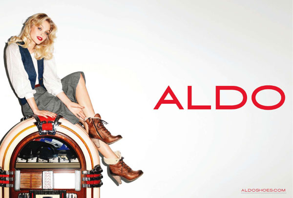 Aldo Fall 2010 Campaign Preview | Jessica Stam by Terry Richardson