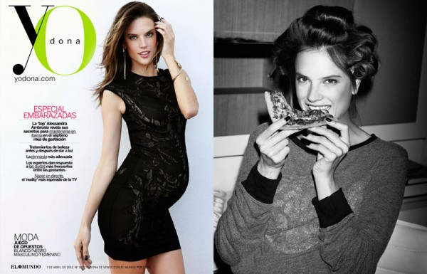 Alessandra Ambrosio by Ruben Vega for Yo Dona April 2012