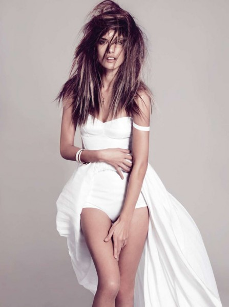 Alessandra Ambrosio for <em>Harper's Bazaar Spain</em> February 2011 by Nico