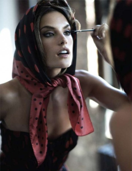 Alessandra Ambrosio for <em>Vogue Mexico</em> December 2010 by Stewart Shining