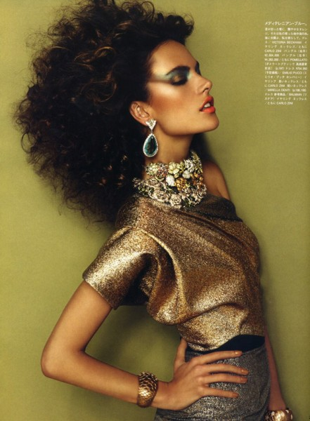 Alessandra Ambrosio by Giampaolo Sgura for <em>Vogue Nippon</em> December 2010