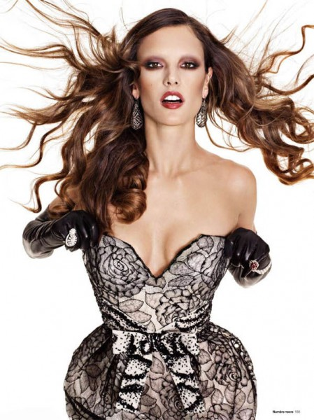 Alessandra Ambrosio by Matthias Vriens-McGrath for Numéro Tokyo January/February 2011