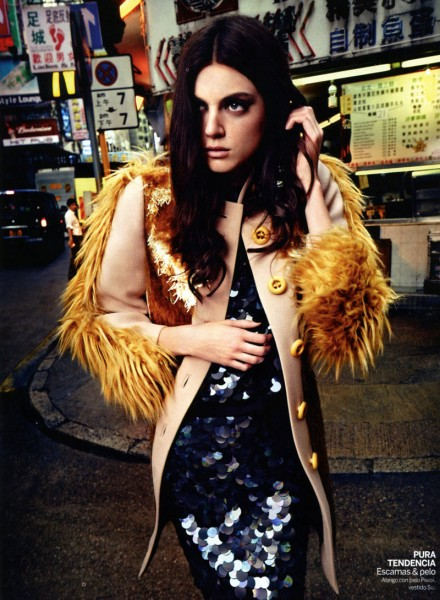 Alexa Corlett by Gregori Civera for <em>Woman Spain</em>
