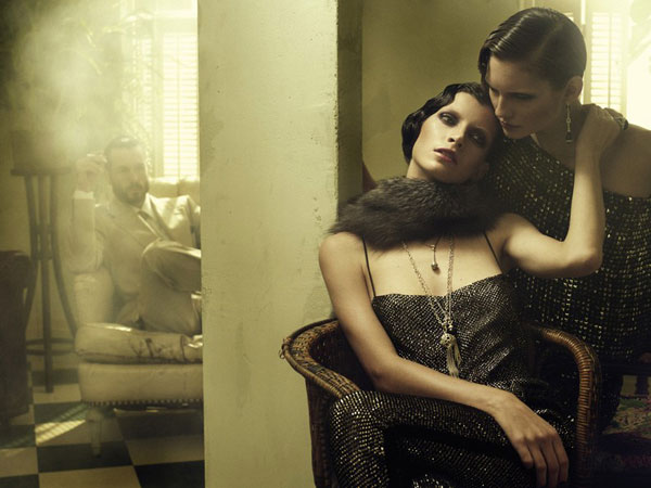 Vogue Germany | Luca Gadjus & Karolin Wolter by Alexi Lubomirski