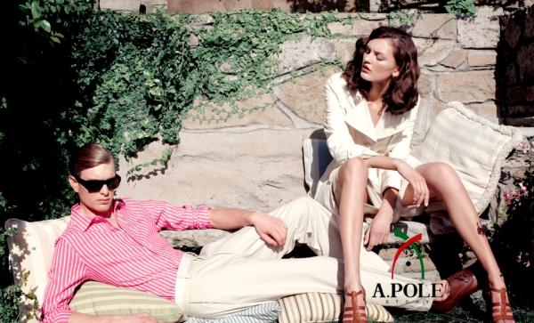 Ali Stephens by Horst Diekgerdes   A.Pole Story Spring 2010 Campaign