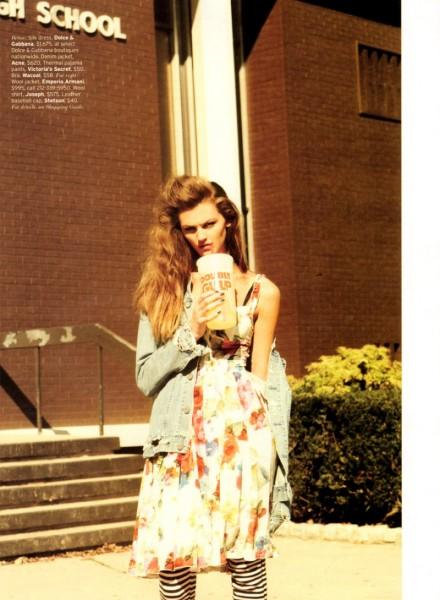 Ali Stephens by Bruno Staub for Elle US