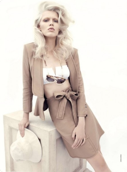 Alys Hale by Adrian Mesko for <em>Vogue Australia</em> January 2011