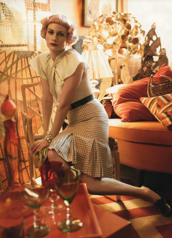 Amber Valletta by Steven Meisel | Vogue US May 2010