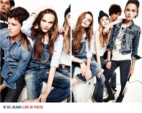American Eagle Outfitters Fall 2010 Campaign | Regina Feoktistova, Kori Richardson & Lais Ribeiro by Nagi Sakai