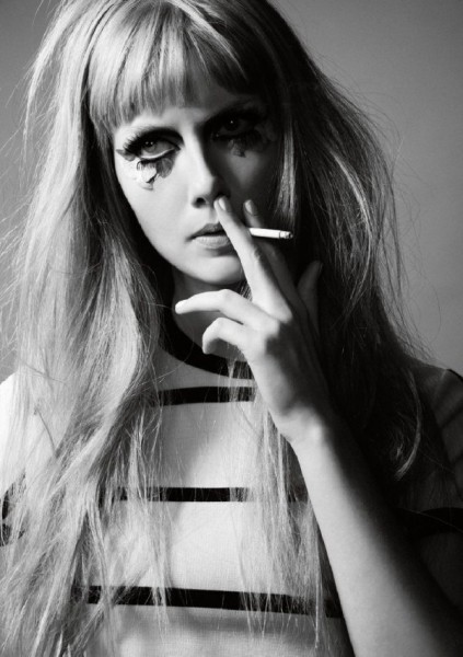 Ana Claudia Michels by Joshua Allen for <em>Contributor Magazine</em> F/W 2010
