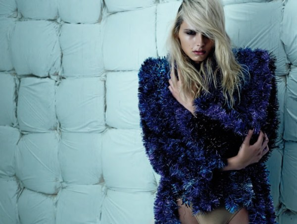 Andrej Pejic for <em>Tush</em> Winter 2010 by Armin Morbach
