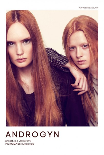 Androgyn by Rickard Sund for <em>Fashion Gone Rogue</em>