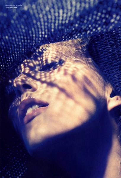Anja Rubik by Camilla Akrans for <em>Numéro</em> #113 May 2010