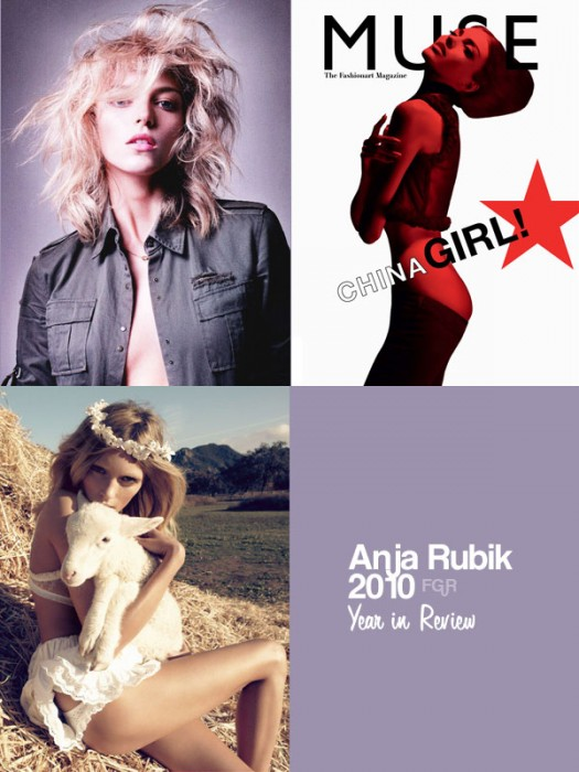 Anja Rubik | Year in Review 2010