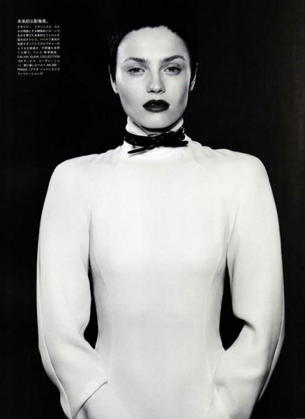 Anna Jagodzinska by Mark Segal in A Thrilling Desire | Vogue Nippon September 2010