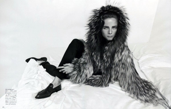 Anna de Rijk by Inez &#038; Vinoodh for <em>Vogue Nippon</em> November 2010