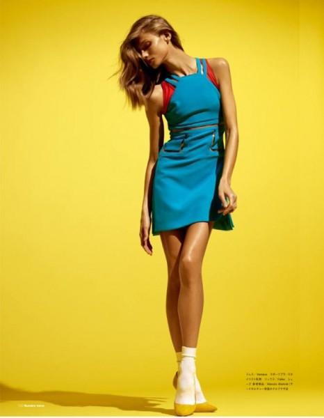 Anna Selezneva by David Vasiljevic for Numéro Tokyo March 2011