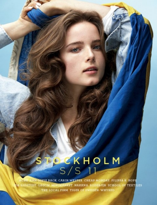 Stockholm S/S 2011 Cover | Anna de Rijk by Thomas Klementsson