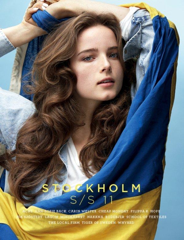 Stockholm S/S 2011 Cover | Anna de Rijk by Thomas Klementsson