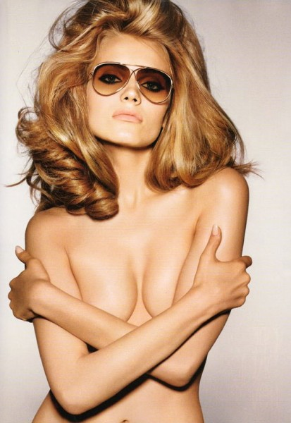 Anna Jagodzinska for Tom Ford Eyewear Part Deux