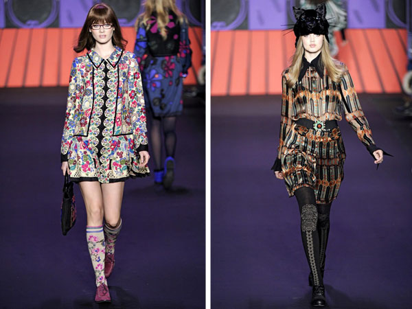 Anna Sui Fall 2011 | New York Fashion Week