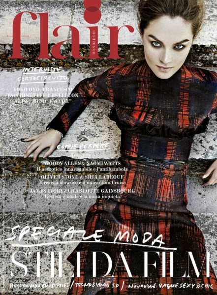 <em>Flair</em> October 2010 Cover | Anouck Lepere by Jean-François Campos