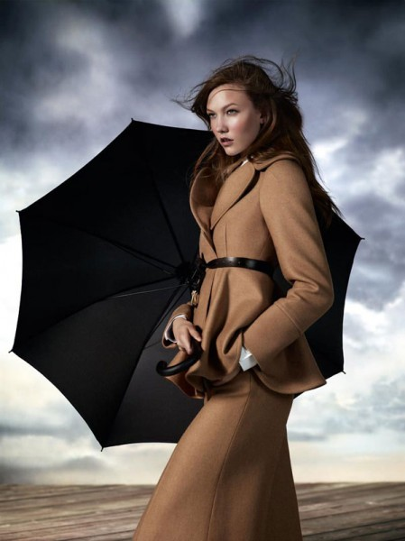 Aquascutum Fall 2010 Campaign | Karlie Kloss by Willy Vanderperre